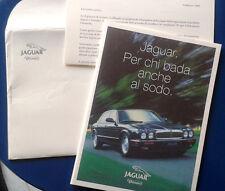 Jaguar - opuscolo produzione anni '90