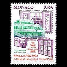 Monaco 2002 - Intl Stamp Exhibition MONACOPHIL 2002 Architecture - Sc 2255 MNH