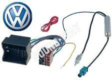 Câble adaptateur autoradio connecteur faisceau ISO pour VW Volkswagen FOX/ BORA