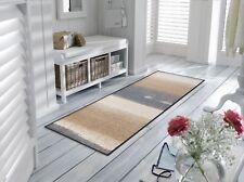 wash+dry Bodenmatte Teppich waschbar Fußmatte Läufer Medley beige 60x 180 cm