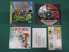Sega Saturn Three Dirty Dwarves. spine, postcard, leaflet etc. JAPAN GAME. 17792