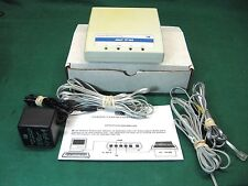 ASAP TF 555 Fax Modem Switch + Power Supply + Phone Lines Guranteed Item