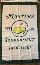 The Masters Flag 3x5 Vertical Banner Established 1934 Augusta GA Golf