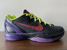Nike Zoom Kobe 6 VI ID Mountain Dew Pitch Black Size 11