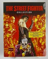 The Street Fighter Collection Shout Factory 3 Disc Blu-ray 319) Brand New