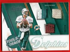 DAN MARINO 2016 ABSOLUTE TOOLS OF THE TRADE GAME USED PATCH JERSEY BALL #D /10