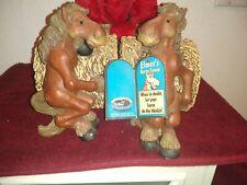 Montana Silversmith Elmer Horse Round Bale Bookends, Set Of 2