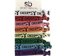 Girls Cheer Hair Ties, Multicolored Cheerleading