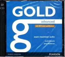 Pearson GOLD ADVANCED CAE EXAM MAXIMISER AUDIO CD with 2015 Specifications @NEW