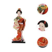 1pc Japanese Folk Geisha Doll Desktop Geisha Ornament