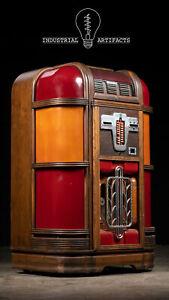Vintage 1930s Rock-Ola Model ST-39 Jukebox - Non Working