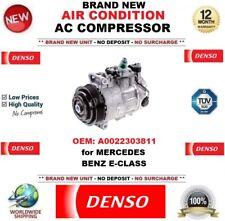 DENSO New Air Condition AC COMPRESSORE OEM: A0022303811 per MERCEDES BENZ E-Class