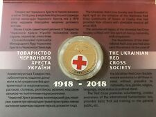 Ukraine,5 Hryven, 100 years of foundation of the Red Cross Societyin Buklet