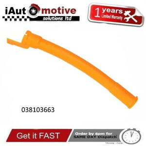 038103663 Oil Dipstick Guide Tube For Audi A3 A4 A6 1.9 TDi VW BORA GOLF Mk4