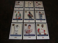2001 Fleer Greats Of The Game Baseball---Lot Of 9---Stars Only---Multi-Lots