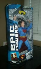 Superman Returns  Man of Steel Epic Powers Superman Mattel Brand New