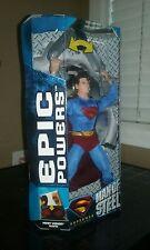 Superman Returns  Man of Steel Epic Powers Superman Mattel Brand New