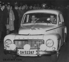 Volvo PV544 with Trana & Thermaenius – winners RAC Rally 1964 - photograph