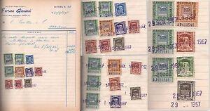 MARCA DA BOLLO-LUPA CAPITOLINA-1967-294 MARCHE DA 10-20-50-100-150-300-500-1000