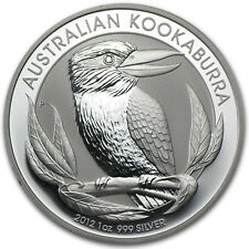Mint Roll of 20 x 2012 Australia 1 oz Perth .999 Silver Kookaburra