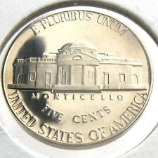 1974 PROOF Jefferson Nickel from US Mint Proof Set 5c Five Cent Coin Made in USA