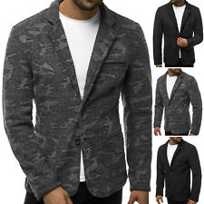 Sakko Klassische Business Jackett Blazer Jacke Anzug Herren OZONEE O/7309