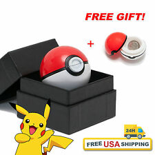 """POKEMON Grinder (Red Ball)2.1""""+Free Pokeball Container Tobacco FAST USA Delivery"""