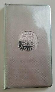 Rare Reynolds Aluminum Advertising Wallet Vintage Design