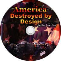 Alex Jones • America Destroyed by Design • New World Order Documentary DVD Truth