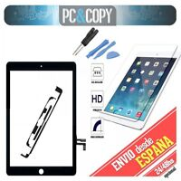 Pantalla tactil iPad Air negra touch screen+adhesivo+herramienta+cristal templad
