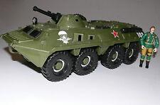 USSR APC GI Joe Oktober Guard vehicle 1/18