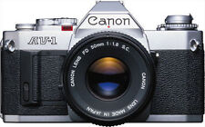 Canon AV-1 Model Film Cameras