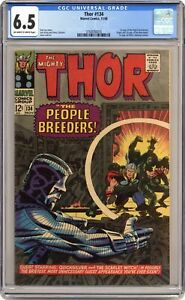 Thor #134 CGC 6.5 1966 3760056018 1st app. High Evolutionary, Man-Beast