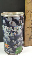 Canfields Grape Soda Can Flat Pull Tab Top 1971 Chicago Ill. 60637 Rare Vintage