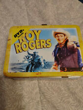 Roy Rogers Lunchbox with 2 Dvds 2009-Never Used-Original Packaging-Rare
