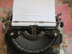 Vintage Imperial Good Companion Typewriter in original hard case.