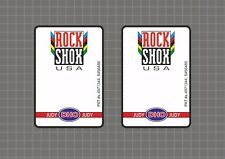 Rock Shox JUDY DH0 1997 Forks Decals Stickers Graphic Set Vinyl Logo Adhesive