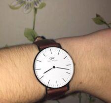 Daniel Wellington Classic St Mawes Tan & Silver 36mm Watch