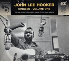 JOHN LEE HOOKER - SINGLES - VOLUME 1 (NEW SEALED 4CD)