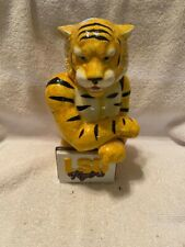 Lsu Tigers Ceramic Figurine and Container by Slavic Treasures