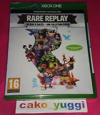 RARE REPLAY 30 JEUX A SUCCES UNE COLLECTION EPIQUE JEU NEUF NEW XBOX ONE