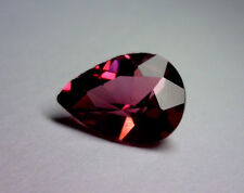 1.29 CT NATURAL PEAR SHAPED RHODOLITE GARNET,  AFRICA, UNHEATED/UNTREATED