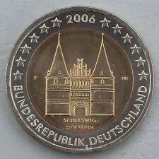 2 Euro Deutschland F 2006 Holstentor unz