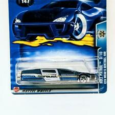 2003 Hot Wheels Roll Patrol 3/10 Syd Mead's Sentinel 400 Blue Limo 5 dot New