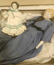 2 Antique Germany China Head Dolls