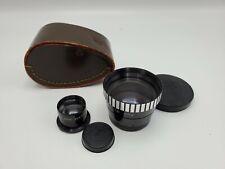 Sun OPT. Rollei Yashica Bay I 1 Telephoto Tele TLR Camera Lens/Finder Set