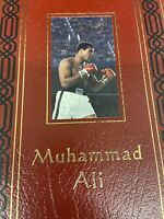 Easton Press MUHAMMAD ALI His Life Times Limited Edition Leather Signed by ALI