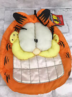 Vintage RARE And Retired GARFIELD Sleepy Heads FUN POUCH Sleepover Nylon W/ Tags