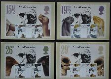 GB 1982:Cpl.Set Maximumkarte MK maximum cards  first day fdc  Charles Darwin