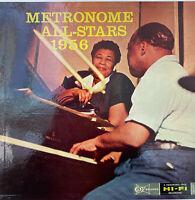 RARE JAZZ LP METRONOME ALL STARS BASIE BLAKEY SIMS CHALOFF OG FR CLEF BARCLAY